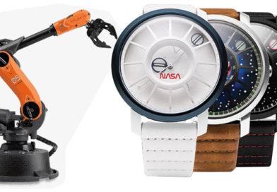 Kickstarter TOP5 #10: Miniaturní robotické rameno; hi-tech hodinky Apollo 11