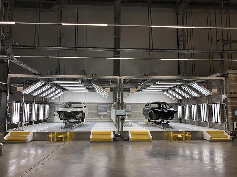 Nová lakovna Škoda Auto