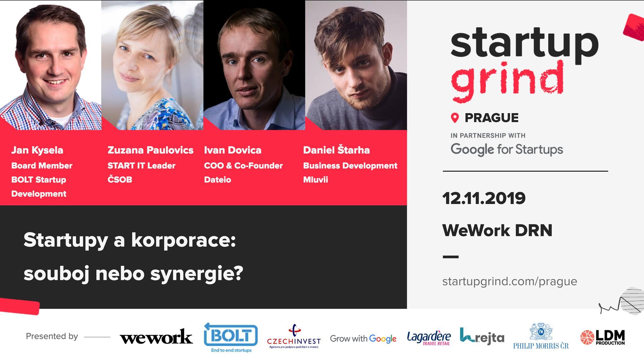 Startupy a korporace: souboj nebo synergie?