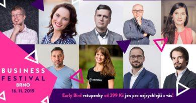 Business Festival 2019, Brno