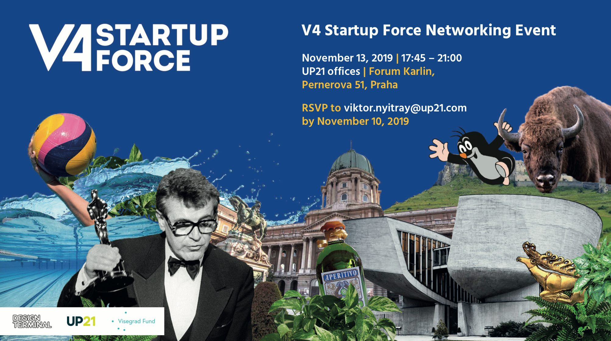 V4 Startup Force Networking Event
