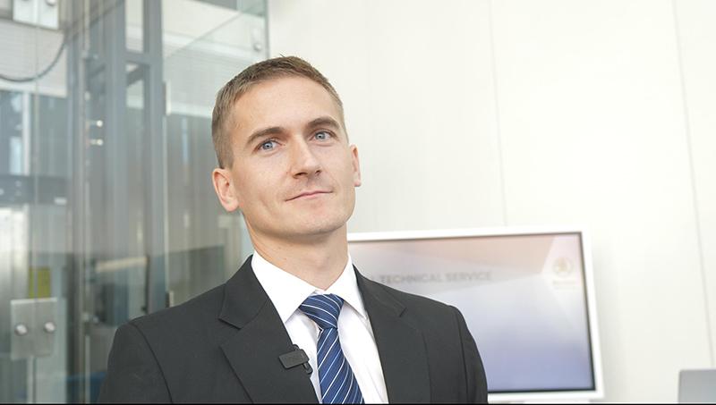 David Šotka, specialista diagnostik Centrální technický servis Škoda Auto