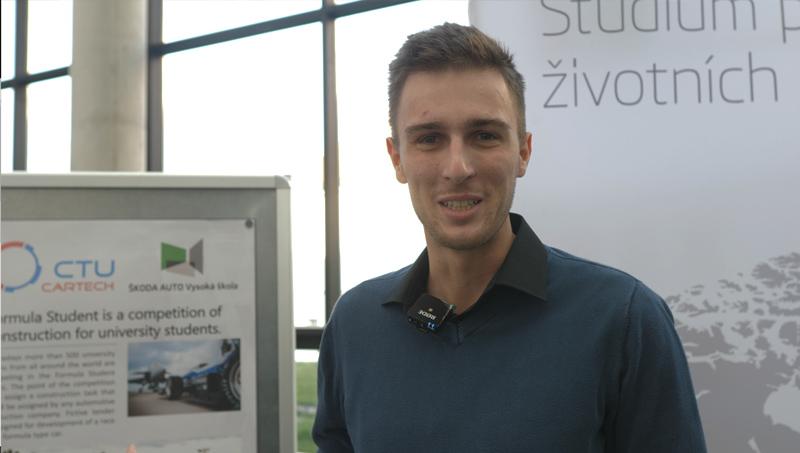 Tomáš Chvojka, člen týmu byznys plán CTU Cartech