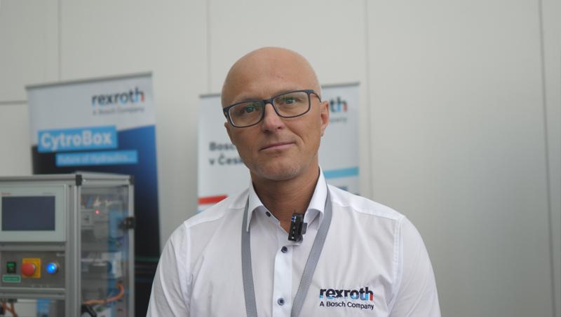 Roman Jaroš, obchodně technický zástupce Rexroth