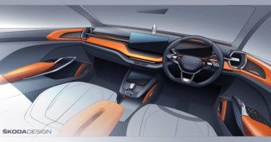 Škoda Auto představila interiérovou skicu SUV pro indický trh