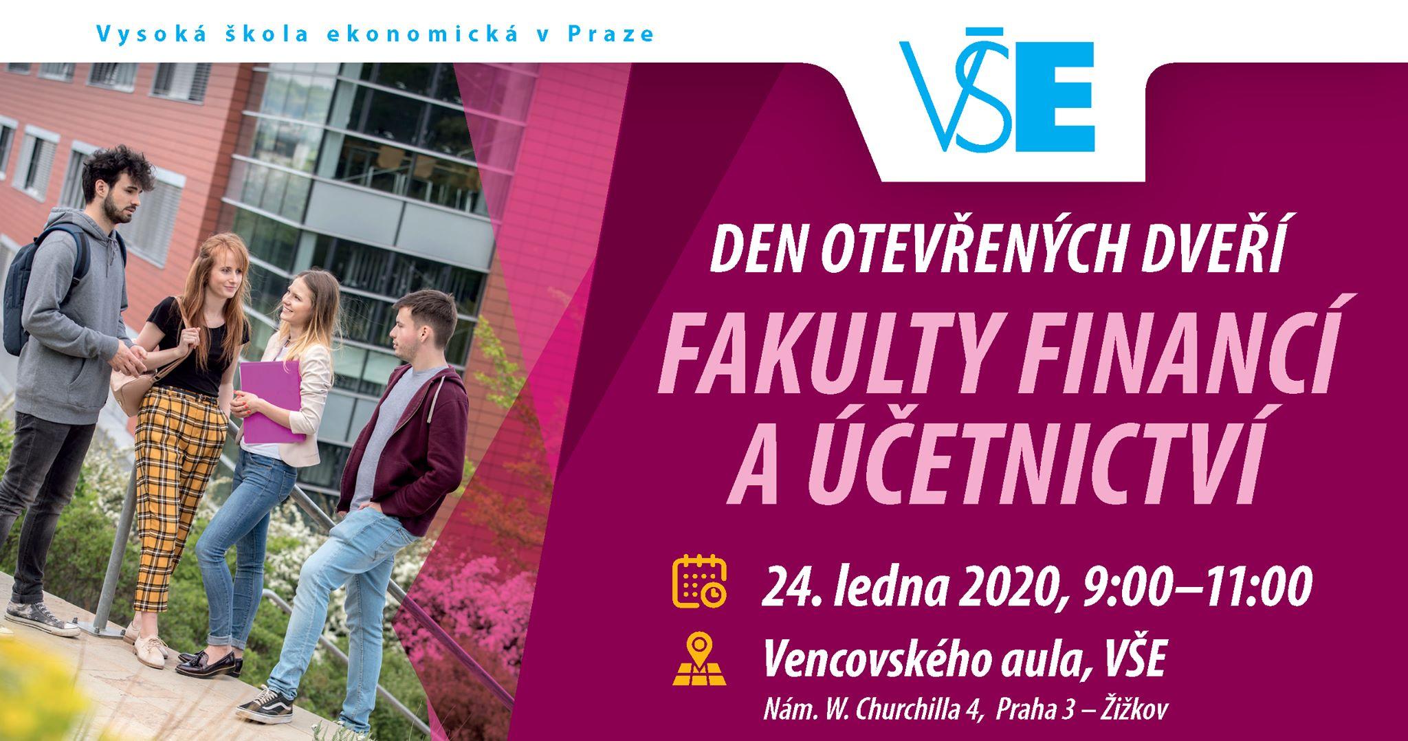 VŠE: Den otevřených dveří Fakulty financí a účetnictví VŠE v Praze