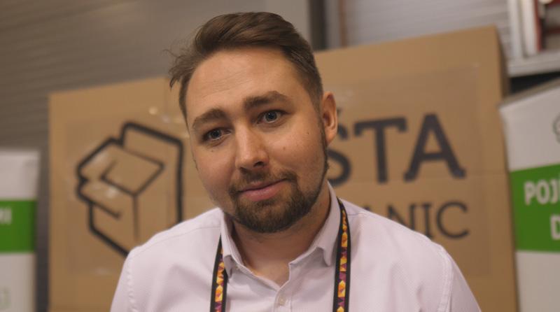 Štefan Belka, obchodní zástupce Pošta bez hranic