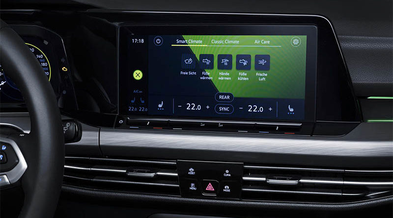 chytrá klimatizace - volkswagen
