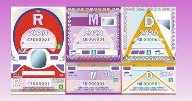 Dálniční známky 2020