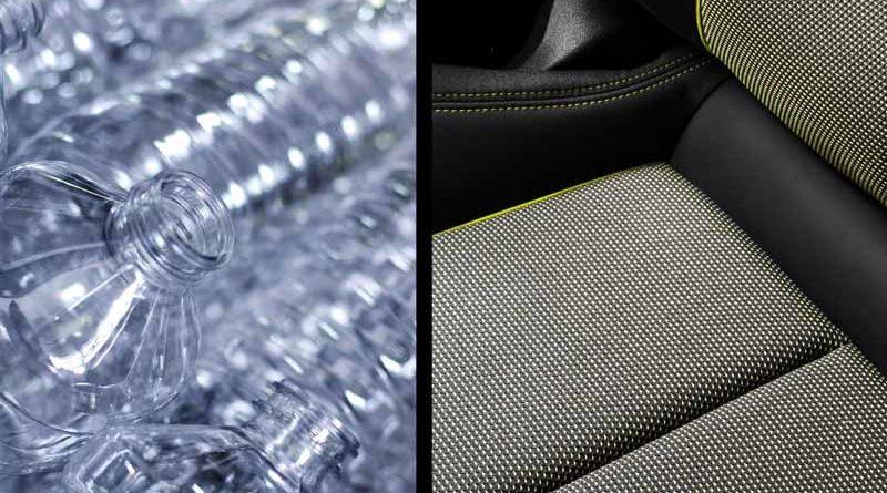 Sedačky u nové a udržitelné Audi A3 jsou z PET láhví