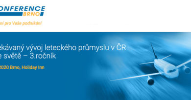 Konference Brno letecký průmysl