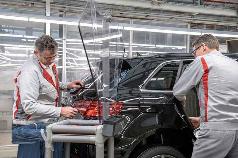 Audi výroba