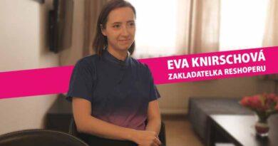 Eva Knirschová - Eventegy - digitální event (Reshoper)