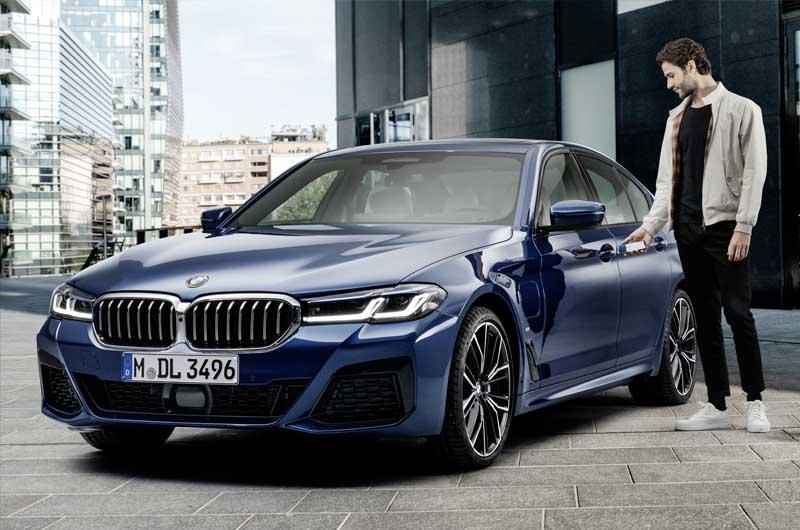 BMW Apple klíč
