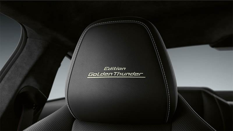 BMW představilo luxusní vůz řady 8 Golden Thunder Edition
