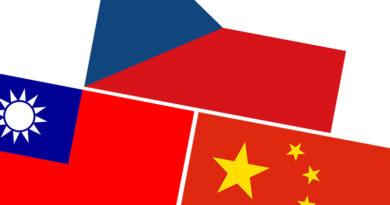 Česko Čína Tchaj-wan