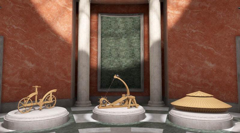 Virtuplex výstava Da Vinci