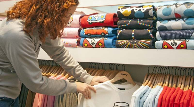 Textilní prodejny