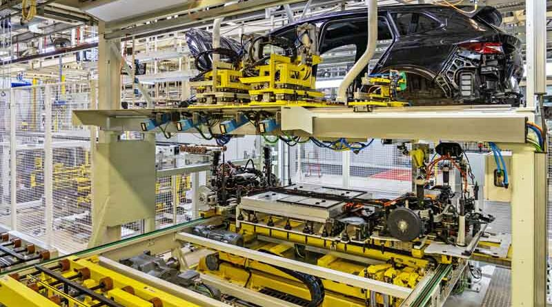 Škoda Enyaq iV fabrika