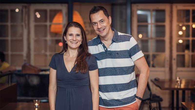 Zakladatelé startupu Actijoy Jana Rosenfelderová a Robert Hašek