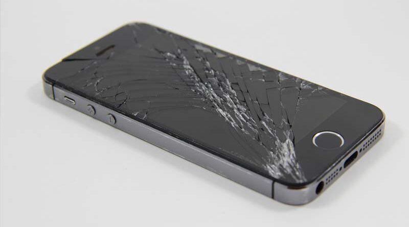 Rozbitý telefon